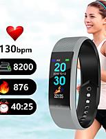 Недорогие -Смарт-браслет смарт-браслет монитор сердечного ритма водонепроницаемый фитнес-трекер Bluetooth ремешок для часов для Android IOS женщины мужчины браслет