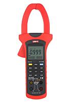 Недорогие -ut233 uni-t жк-зажим цифровой мультиметр напряжения амперметр тестер частоты питания однофазный 2-проводная автоматическая калибровка