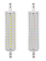 Недорогие -2pcs 10 W LED лампы типа Корн 300 lm R7S 72 Светодиодные бусины SMD 2835 Тёплый белый Белый 85-265 V