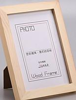 Недорогие -Современный современный Дерево Окрашенные отделки Рамки для картин, 1шт