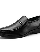 Недорогие -Муж. Комфортная обувь Полиуретан Лето На каждый день Мокасины и Свитер Нескользкий Черный