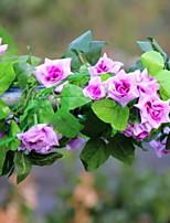 Недорогие -Искусственные Цветы 1 Филиал С креплением на стену Современный современный Вечные цветы Цветы на стену