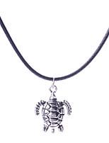 Недорогие -Жен. Ожерелья с подвесками Хром Серебряный 45+7 cm Ожерелье Бижутерия 1шт Назначение фестиваль