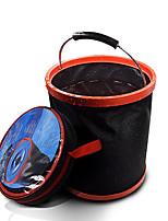 Недорогие -12 л портативный большой емкости открытый кемпинг рыбалка складной ведро воды инструмент для хранения автомобилей