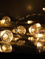 Недорогие -3M Гибкие светодиодные ленты / Интеллектуальные огни 10 светодиоды 1 x датчик PIR Тёплый белый / Холодный белый Творчество / Декоративная / Самоклеющиеся Аккумуляторы 1шт