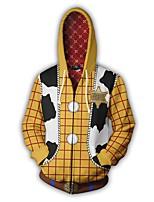 Недорогие -Вдохновлен Игрушечная история Косплей Аниме Косплэй костюмы Японский Косплей толстовки Назначение Муж.