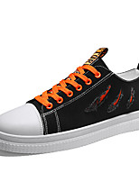 cheap -Unisex Spring & Summer Classic / British Daily Outdoor Sneakers Walking Shoes Canvas Breathable Wear Proof Yellow / Orange / Green