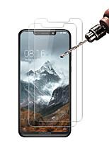 Недорогие -MotorolaScreen ProtectorMOTO P30 Note HD Защитная пленка для экрана 2 штs Закаленное стекло