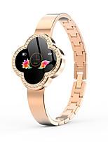 Недорогие -S6 женщины умные часы монитор сердечного ритма ip67 водонепроницаемый фитнес-браслет трекер носимых браслет smartwatch