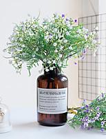 Недорогие -Искусственные Цветы 3 Филиал Классический европейский Свадебные цветы Перекати-поле Вечные цветы Букеты на стол
