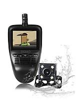 Недорогие -Ziqiao rs801 1080p Full HD Автомобильный видеорегистратор 170 градусов широкоугольный 2-дюймовый ЖК-спринт-камера Wi-Fi ночного видения скрытого вождения рекордер