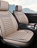 Недорогие -накидка на сиденье автомобиля дышащая гречневая льняная подушка на четыре сезона подушка сиденья общая подушка сиденья / пять сидений / общий моторный чехол