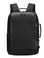 Недорогие -Аполлон мечта 819014 15,6-дюймовый ноутбук пригородных рюкзаков нейлоновое волокно / кожа сплошной цвет для мужчин водонепроницаемые