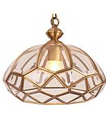 Недорогие -светильник для прихожей из латуни и стекла потолочный светильник современный простой подвесной светильник для коридора спальни