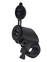 Недорогие -4.2a Dual USB зарядное устройство для мобильного телефона мотоцикла универсальный 12v / 24v модифицированное зарядное устройство