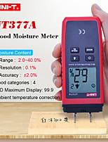Недорогие -uni-t ut377a цифровой измеритель влажности древесины гигрометр измеритель влажности для измерения влажности бумаги / фанеры / древесины жк-подсветка