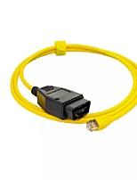 Недорогие -Ethernet к OBD для BMW серии F Диагностический кабель enet Кодирование e-sys icom 2 без инструмента кодирования cd esys icom