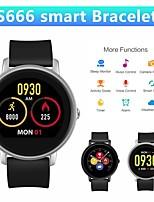 Недорогие -S666 умные часы монитор сердечного ритма фитнес трекер женщины мужчины bluetooth smartwatch ip67 водонепроницаемые часы умный браслет наручные часы.