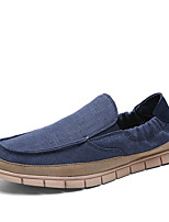 cheap -Men's / Unisex Fall Casual / Preppy Daily Outdoor Loafers & Slip-Ons Walking Shoes Canvas Breathable Non-slipping Wear Proof Beige / Dark Blue / Light Blue