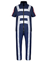 Недорогие -Вдохновлен My Hero Academia Boko No Hero Тодороки Схото Аниме Косплэй костюмы Японский Косплей Костюмы Пальто / Брюки Назначение Муж. / Жен.
