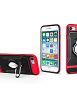 Недорогие -Кейс для Назначение Apple iPhone 8 Pluss / iPhone 8 / iPhone 7 Plus Кольца-держатели / Ультратонкий Кейс на заднюю панель Пейзаж ПК