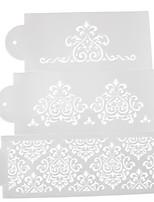 Недорогие -3шт силикагель Для торта Формы для пирожных Инструменты для выпечки