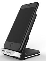 Недорогие -10 Вт ци стандартное беспроводное зарядное устройство быстрое зарядное устройство подставка док-станция для быстрой зарядки для iphone 8 х samsung s9 s8 s7 s8 plus s9 plus note8 plus