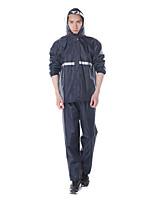 Недорогие -плащ водонепроницаемый непромокаемая куртка с капюшоном с брюками для мужчин женщина костюм фермерские работы открытый капюшон мотоцикла
