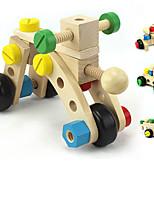 Недорогие -Игрушечные машинки Мотоспорт Специально разработанный деревянный Детские Взрослые Все Игрушки Подарок