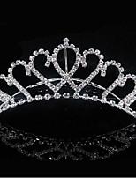 Недорогие -Жен. Симпатичные Стиль Свадьба Принцесса Цирконий Серебрянное покрытие Сплав,Однотонный