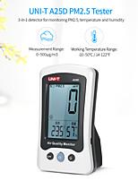 Недорогие -PM2.5 тестер контроля качества воздуха измеритель температуры и влажности аккумуляторная PM2.5 детектор цифровой термометр газоанализатор