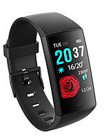 cheap -CY11 Unisex Smart Wristbands Android iOS Bluetooth Waterproof Heart Rate Monitor Blood Pressure Measurement Distance Tracking Information Pedometer Call Reminder Activity Tracker Sleep Tracker