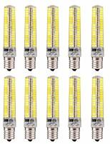 Недорогие -10 шт. 5 W LED лампы типа Корн 1000-1200 lm E17 T 136 Светодиодные бусины SMD 5730 Диммируемая Декоративная Тёплый белый Холодный белый 220 V 110 V