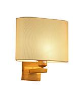 Недорогие -nordic простой настенный светильник из цельного дерева бра бра современный современный / в нордическом стиле настенный светильник для внутреннего освещения / настенный светильник для спальни