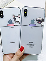 cheap -Shockproof TPU Dog Case for Apple iPhone 11 Pro Max X XR XS Max 8 Plus 7 Plus 6 Plus SE Back Cover
