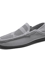 cheap -Men's Spring / Summer Casual / British Daily Loafers & Slip-Ons Tissage Volant Non-slipping Black / Gray