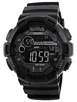 Недорогие -skmei взрослый случайный спортивные часы цифровой дисплей календарь водонепроницаемый электронные наручные часы с подсветкой