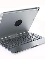 Недорогие -Кейс для Назначение Apple iPad Pro 9.7'' Поворот на 360° / Защита от удара / LED Чехол Однотонный Твердый Алюминий