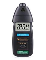 Недорогие -новый высококачественный цифровой лазерный тахометр об / мин бесконтактный 2.5rpm-99999rpm жк-дисплей измеритель скорости dt2234c скорость тестера