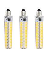 Недорогие -3шт 5 W LED лампы типа Корн 1000-1200 lm E12 T 136 Светодиодные бусины SMD 5730 Диммируемая Декоративная Тёплый белый Холодный белый 220 V 110 V