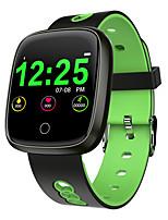 Недорогие -Смарт-часы df03 oled цветной экран smartwatch мужчины женщины мода группа активность фитнес-трекер монитор сердечного ритма смарт-браслет
