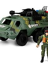 Недорогие -Игрушечные машинки Танк Транспорт Cool Альт Пластиковые & Металл Дети Все Игрушки Подарок 1 pcs