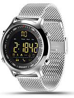Недорогие -Умные часы dm01 Спорт SmartWach Bluetooth SmartWatch для Android IOS долгое время ожидания водонепроницаемый шагомер вызова SMS напоминание