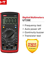 Недорогие -uni-t ut39e 4 1/2 ручной диапазон цифровой мультиметр транзистор постоянный ток переменный ток сопротивление емкость измеритель частоты