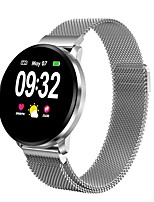 Недорогие -cf68 умные часы женщины ip67 водонепроницаемый фитнес-трекер активности браслет с монитором артериального давления часы сердечного ритма
