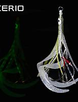 Недорогие -1 шт. Светящиеся кальмары светящиеся растяжки кремний ручной крючок морской рыбалки приманки световой глубоководной рыбалки специальное оружие