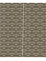 Недорогие -Китайский стиль 3d печать высокоточный материал шторы затемнения теплоизоляция ткани шторы для ванной водонепроницаемый плесени шторы полного оттенка