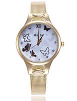 Недорогие -Жен. Кварцевые На каждый день Мода Серебристый металл Золотистый Розовое золото Искусственная кожа Китайский Кварцевый Золотой Серебряный Розовое Золото Очаровательный Творчество Повседневные часы 1