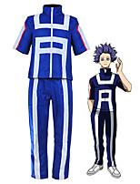 Недорогие -Вдохновлен My Hero Academia Boko No Hero Куки-аниме Аниме Косплэй костюмы Японский Косплей Костюмы Назначение Муж. / Жен.