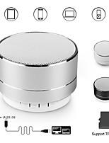 Недорогие -a10 bluetooth-динамик металлический мини-портативные колонки звук сабвуфера с микрофоном громкой связи поддержка карт TF FM-радио aux